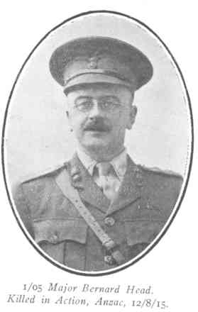 major bernard head